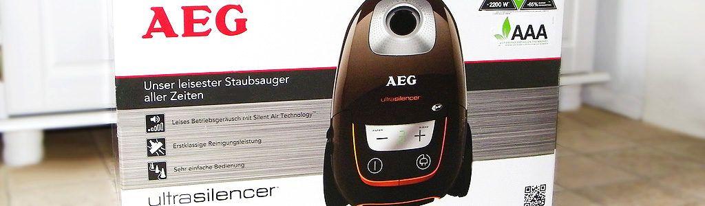 AEG UltraSilencer Staubsauger AUS8230 im Test