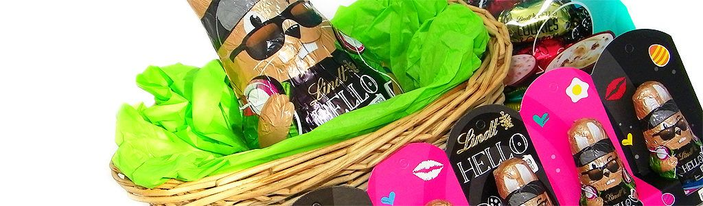 Ostern mit Lindt HELLO Bunny und Lindt HELLO Easter Egg Mix