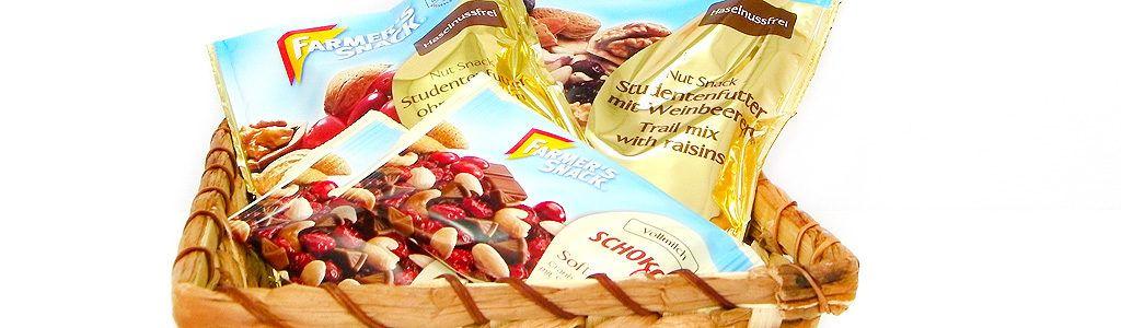 Farmer's Snack – gesunde Snack-Variationen