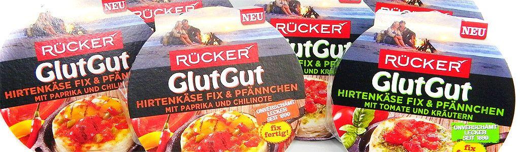 GlutGut Hirtenkäse Fix & Pfännchen von RÜCKER