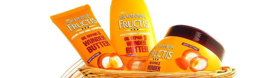 Garnier Fructis Wunder Butter Oil Repair 3 – Haarpflegeserie