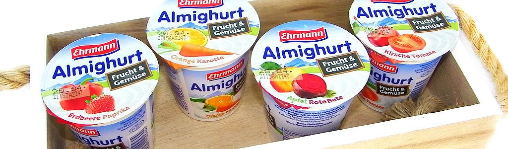 Almighurt Frucht und Gemüse Joghurt von Ehrmann