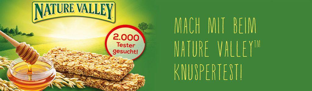 Brandnooz sucht 2000 Tester für Nature Valley™ Crunchy