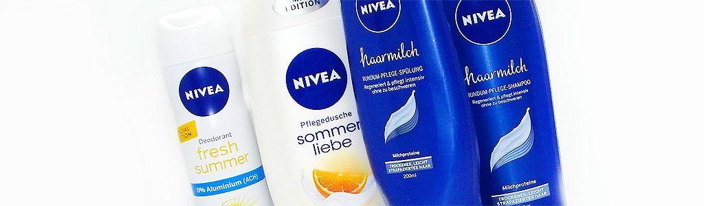 NIVEA – Sommerliebe Pflegedusche, Deodorant Fresh Summer und Haarmilch