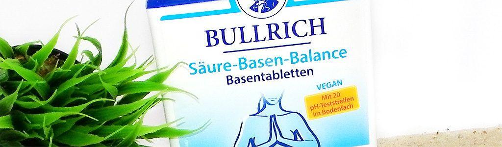 Säure-Basen-Balance Basentabletten von BULLRICH