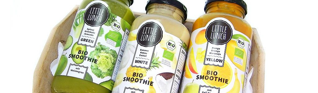 Little Lunch Bio Smoothies White, Green und Yellow