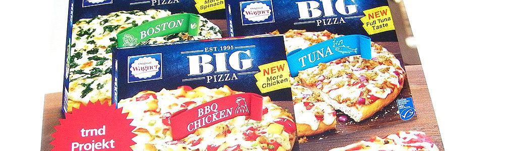 Wagner Big Pizza im Geschmackstest