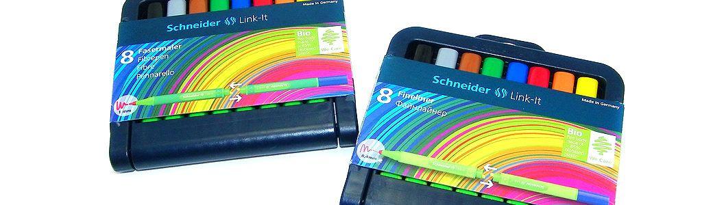 Schneider Link-It Fineliner und Fasermaler