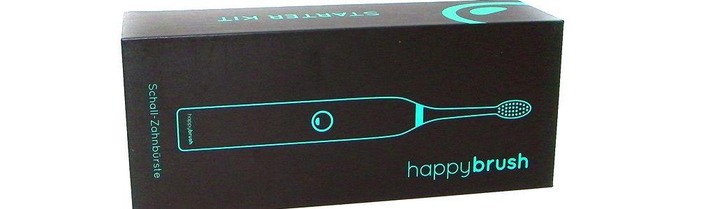 happybrush – die neue elektrische Schall-Zahnbürste