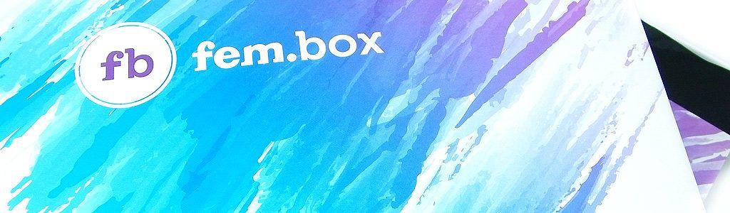 fem.box – erste Ausgabe – Oktober 2016