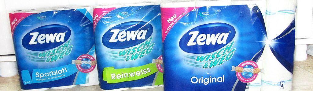Zewa Wisch&Weg praktischer Helfer