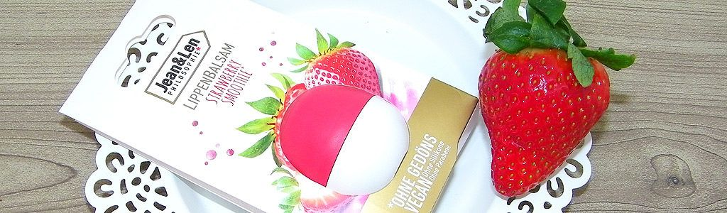 Jean & Len – Lippenbalsam Strawberry Smoothie