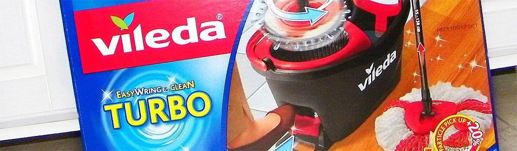 Turbo EasyWring & Clean Wischmop von Vileda