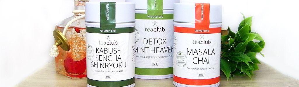 TeaClub – ein Teeshop für Qualitätstee