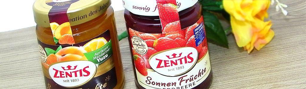 Zentis Aprikose-Mandarine-Yuzu / Erdbeere
