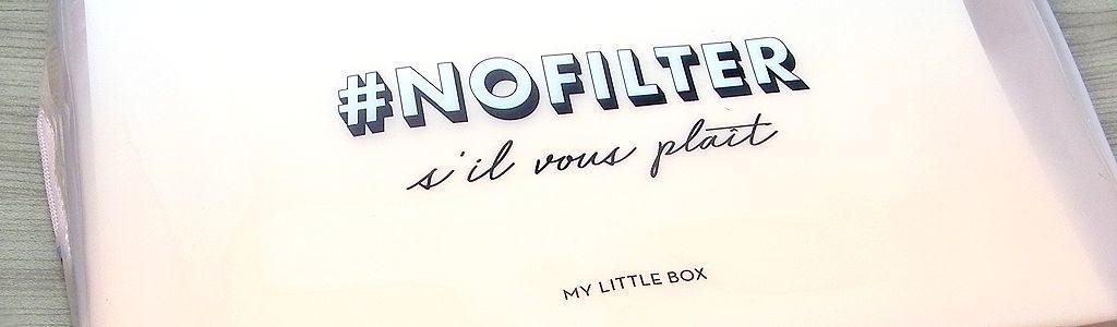 My Little Box März – No Filter Box Natürlichkeit