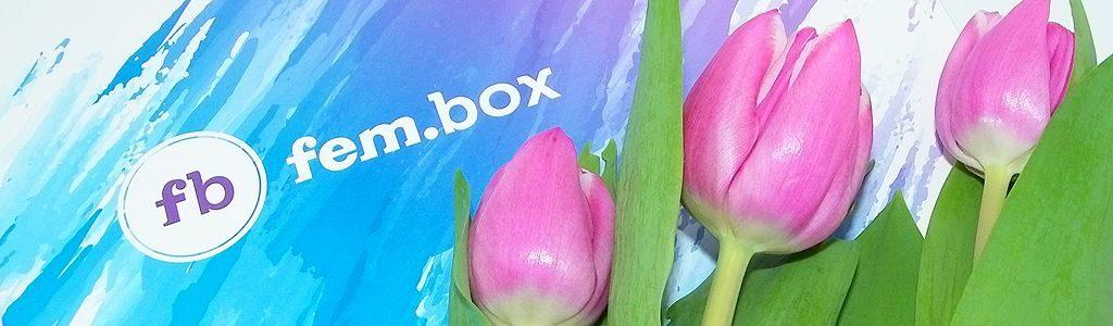 fem.box – März 2017 mit schönen Pflegeprodukten