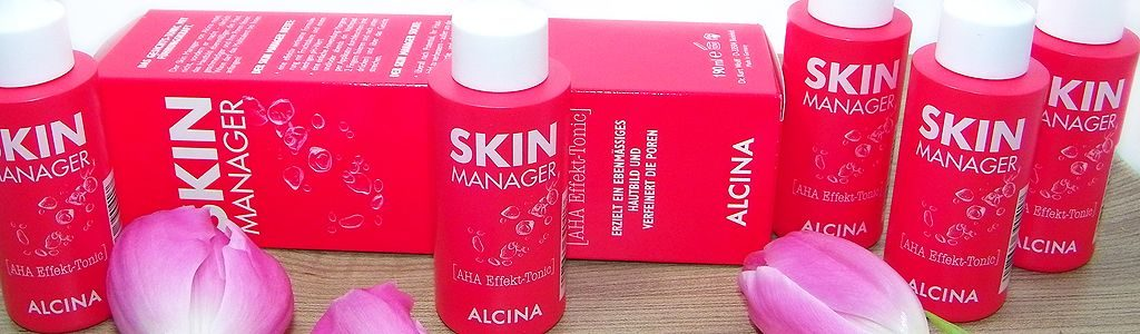 Alcina Skin Manager ein Gesichtstonic mit AHA-Effekt