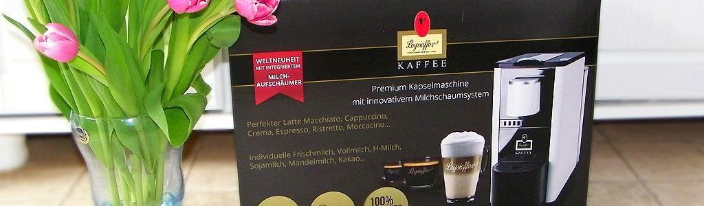 Leysieffer Kaffee Premium Kapselmaschine mit Milchschaumsystem
