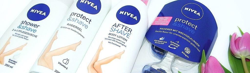 Nivea Protect  &  Shave – gepflegt in den Sommer