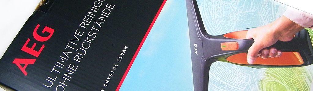 Streifenfreie Fenster – AEG Fenstersauger WX7-60CE1