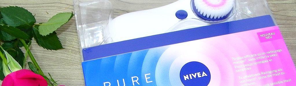 Nivea Pure Skin elektrische Gesichtsreinigungsbürste
