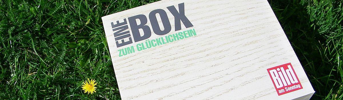 BILD am SONNTAG Box April 2019 – Lust auf Picknick