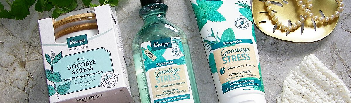 Kneipp Goodbye Stress Serie