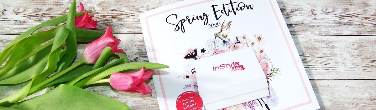 InStyle Box Frühlings-Edition 2020 – schöne Produkte für den Frühling