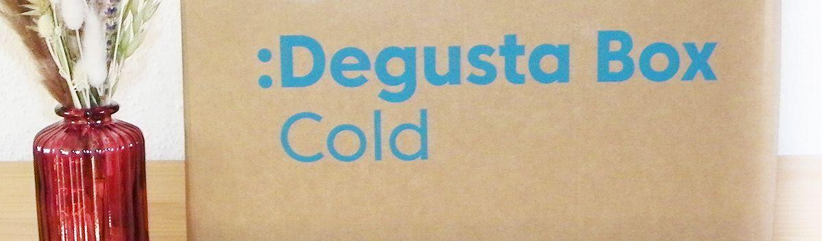 Degusta Box Cold 2020 mit gekühlten Produkten